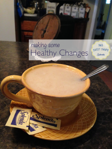 Healthier Lifestyle Changes with SPLENDA® and #SweetSwaps Twitter Party