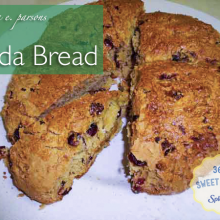 Easy Irish Soda Bread Recipe with SPLENDA® #SweetSwaps