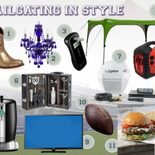 tailgate accessories upscale game day, tailgate supplies, #BBNshops