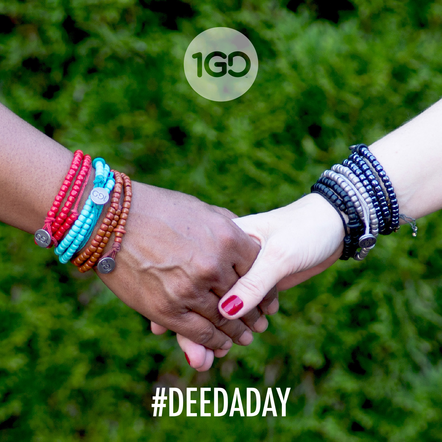 100 Good Deeds Bracelet #DeedADay hands
