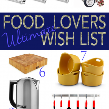 Food Lovers Ultimate Wish List from Wayfair