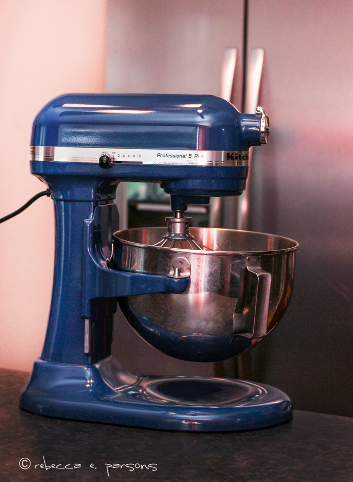 My Cobalt Blue KitchenAid Stand Mixer