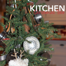 My Kitchen Christmas Tree