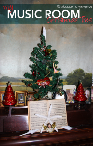 Holiday Home Tour – Music Room Christmas Tree