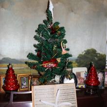 my music room Christmas tree