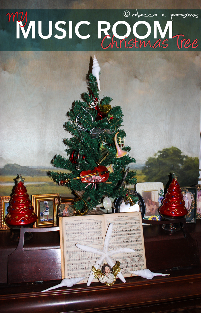 my music room Christmas tree