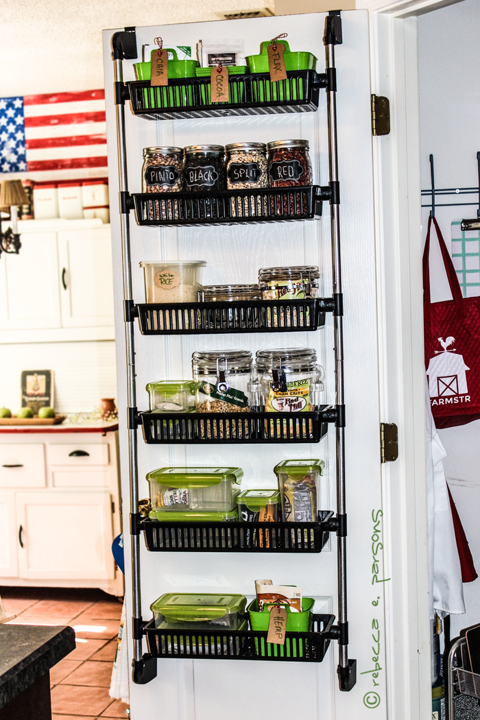 Kitchen Storage My Organized Pantry Makeover Lesson