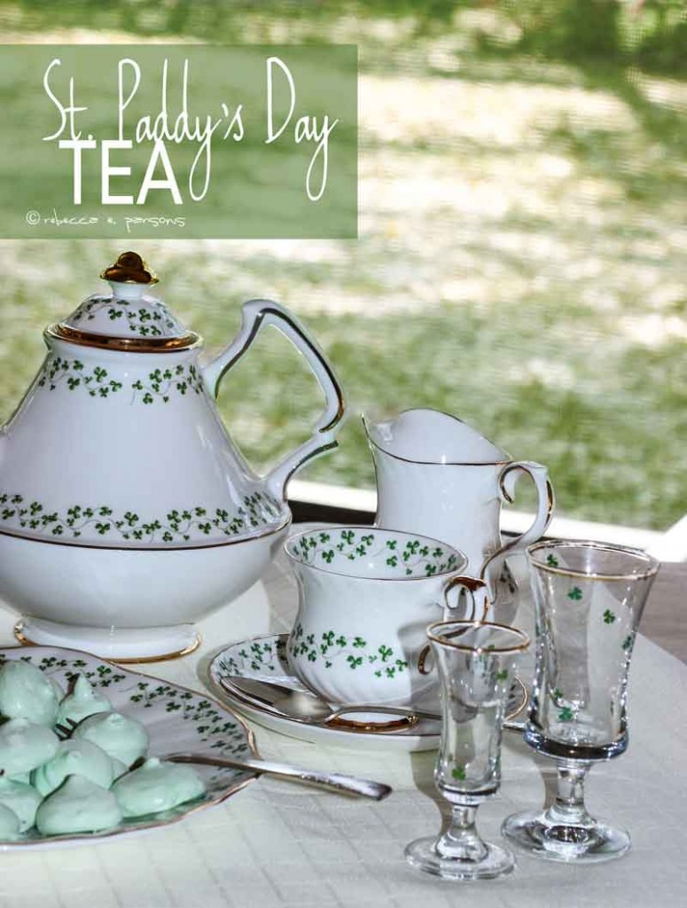 ST. Patrick's Day Tea Tablescape