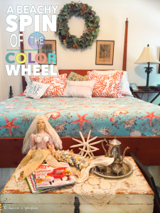 A Beachy Spin of the Color Wheel Decor