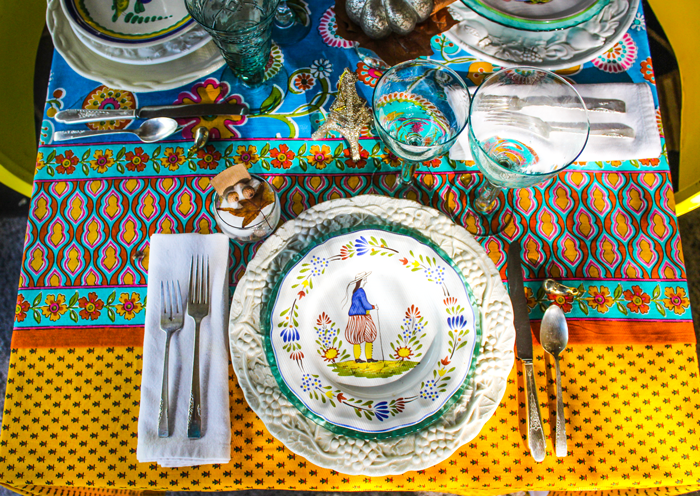 Thanksgiving Table Setting The Grateful Table Breton Man Faience