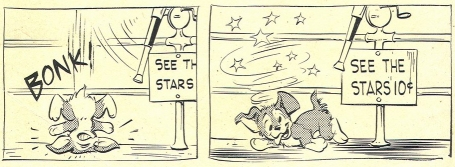 Scamp with circling stars borrowed from TVTropes.org click image to visit page