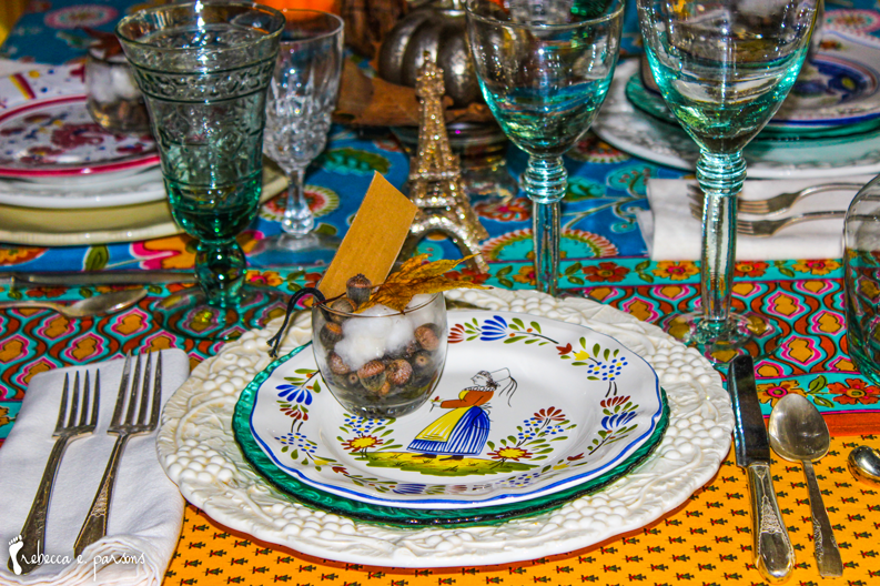 Thanksgiving Table Setting The Grateful Table Breton Woman Faience