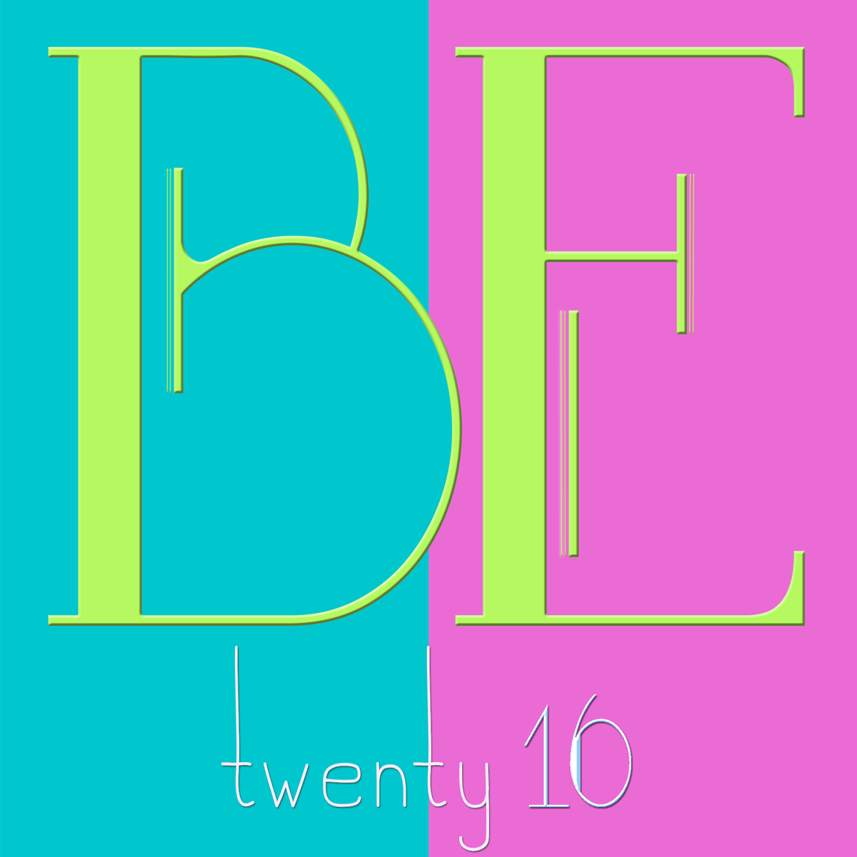BE ME in 2016 - my guiding word BEing vs. DOing