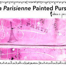Craft Do Over Painted Purse Tutorial