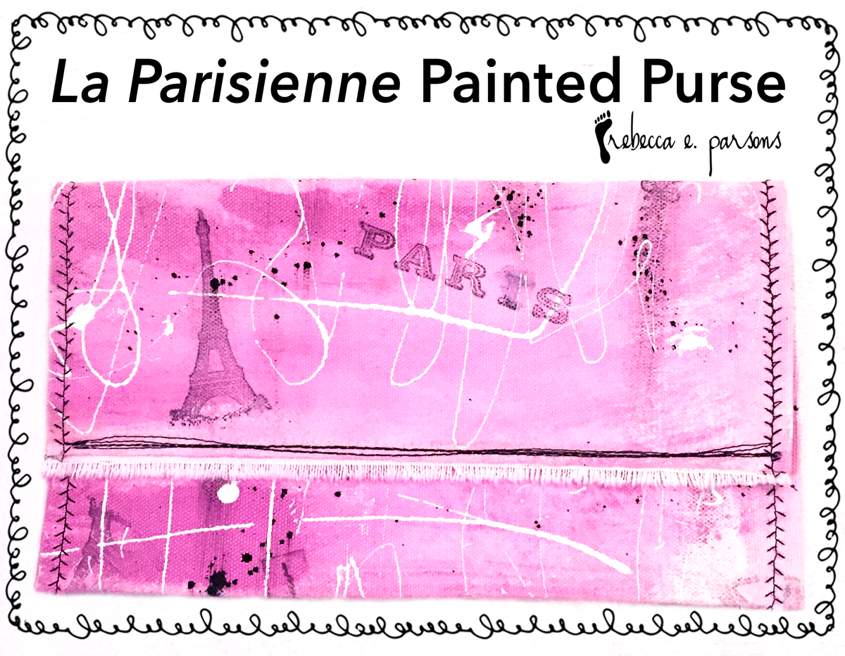 La Parisienne Painted Purses