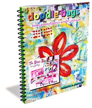Doodle Bags eBook on hot to paint painted urses