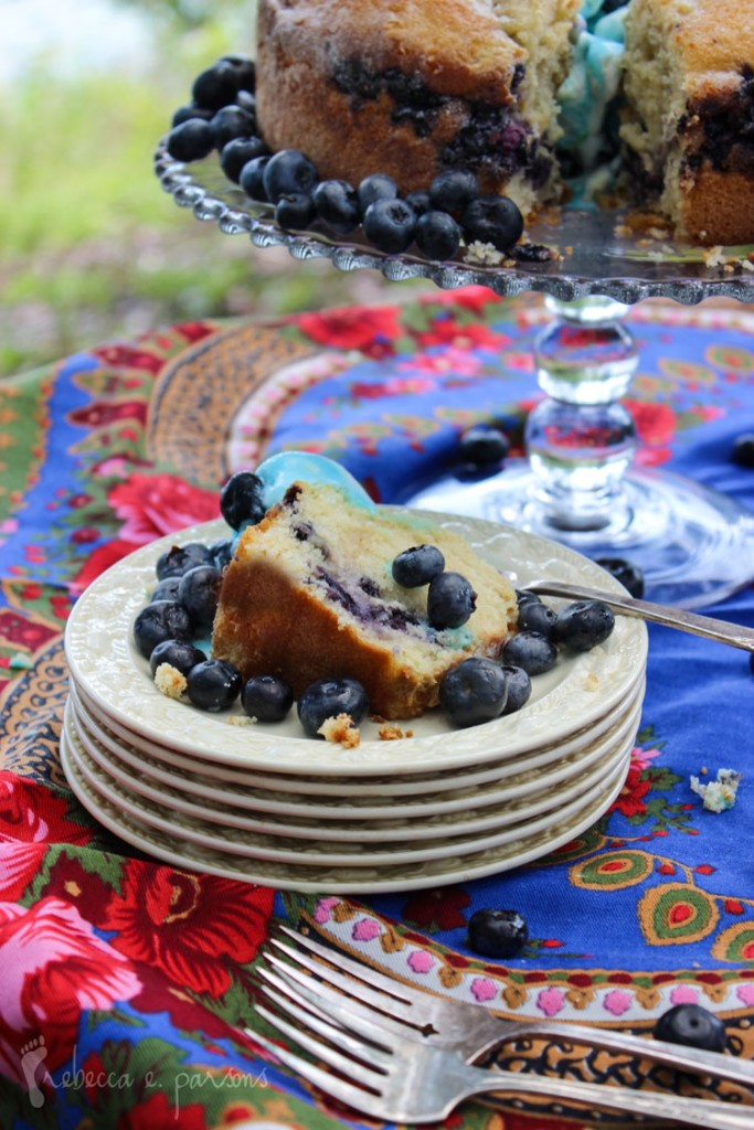 Gluten Free Blueberry Orange Cake
