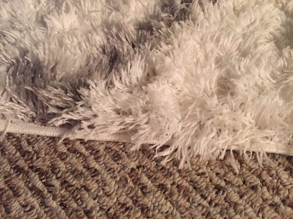 area rug close texture