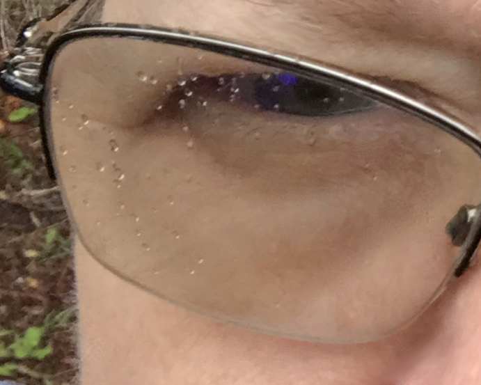 Rebecca glasses with raindrops for weight loss
