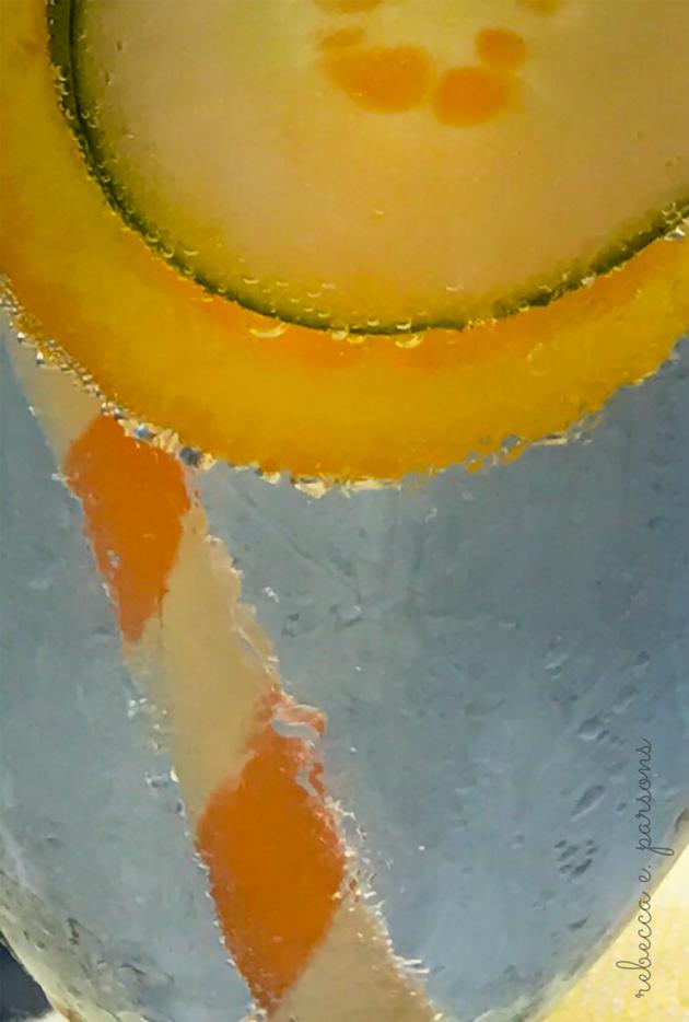 summer solstice fete Gin Gin Fizz bubbles