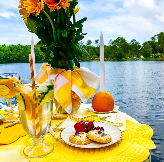 summer solstice fete table