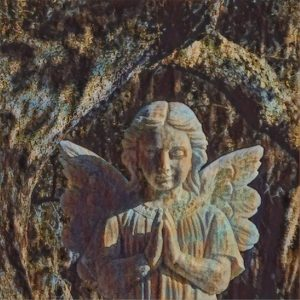 Sharing prayer with grandchildren Morning Meditation angel