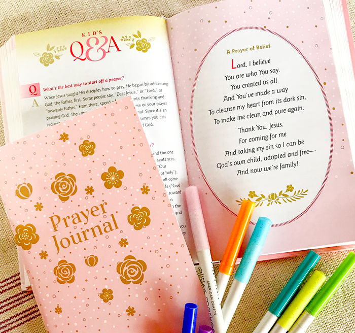 Sharing prayer with grandchildren composite