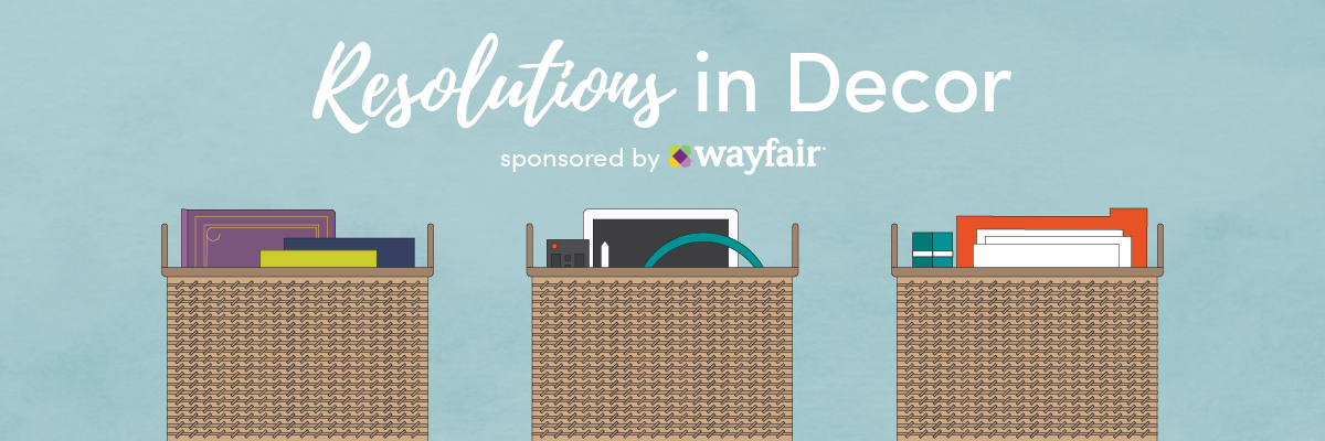 Wayfair Resolutions in Décor campaign banner