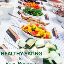 Healthy Eating for Baby Boomers – National Nutrition Month