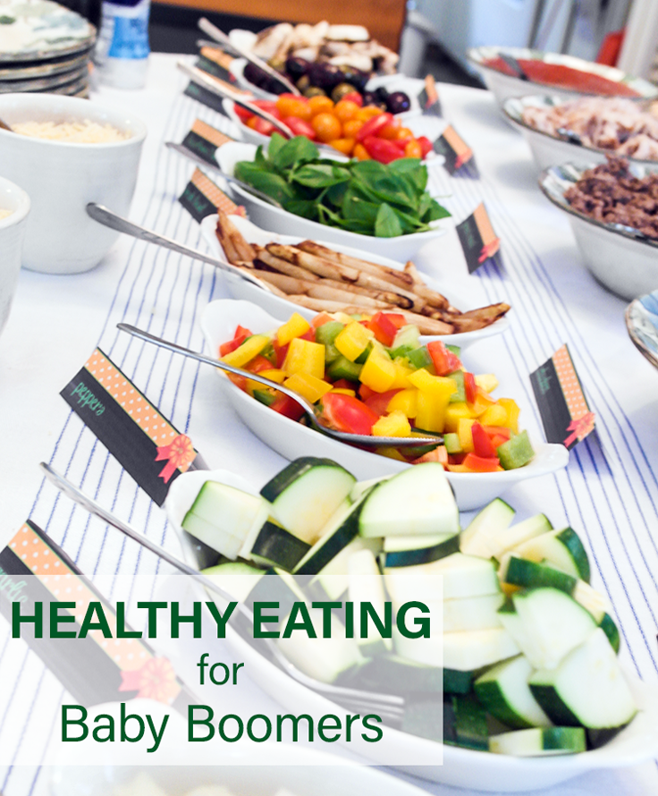 healthy eating for baby boomers veggies