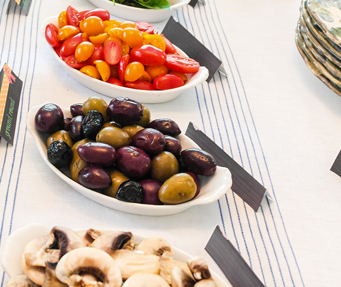 veggies olives mushrooms healthy eating for baby boomers