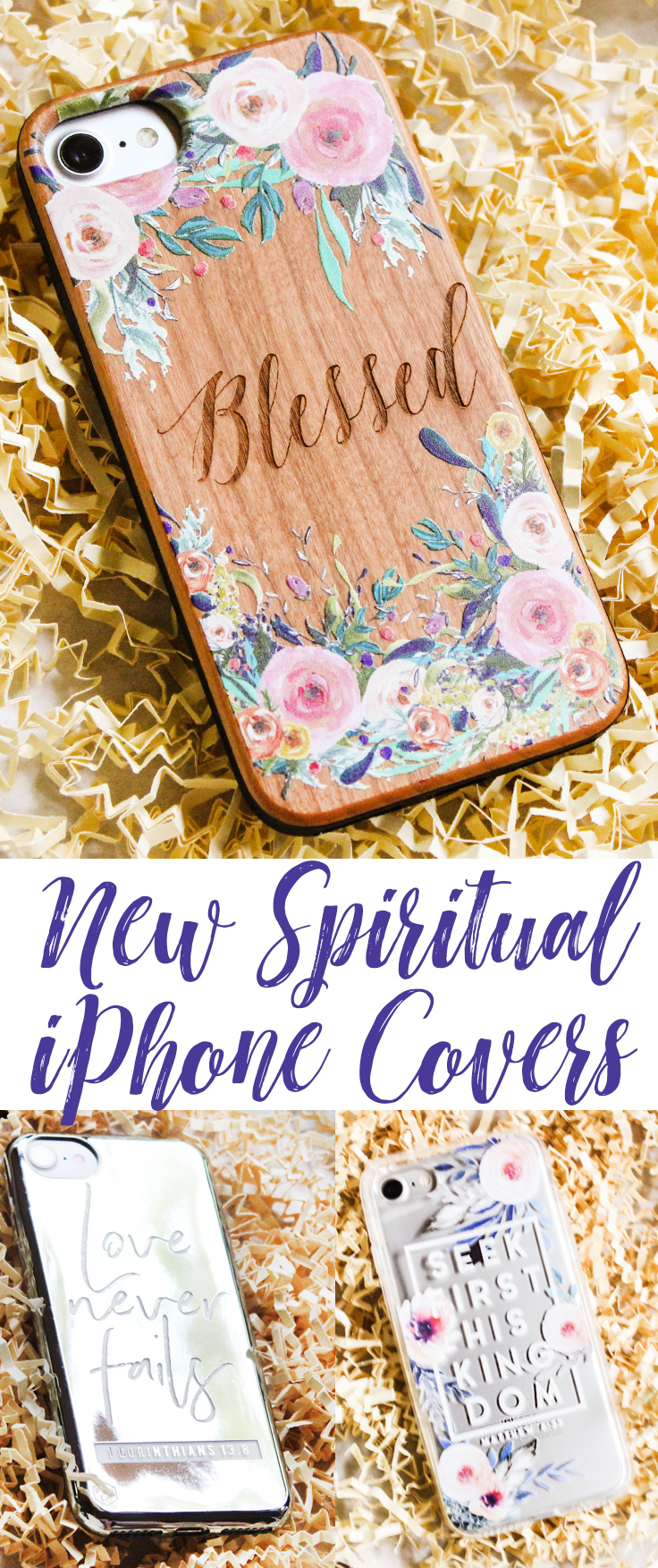 Three New Spiritual Phone Covers and Giveaway!