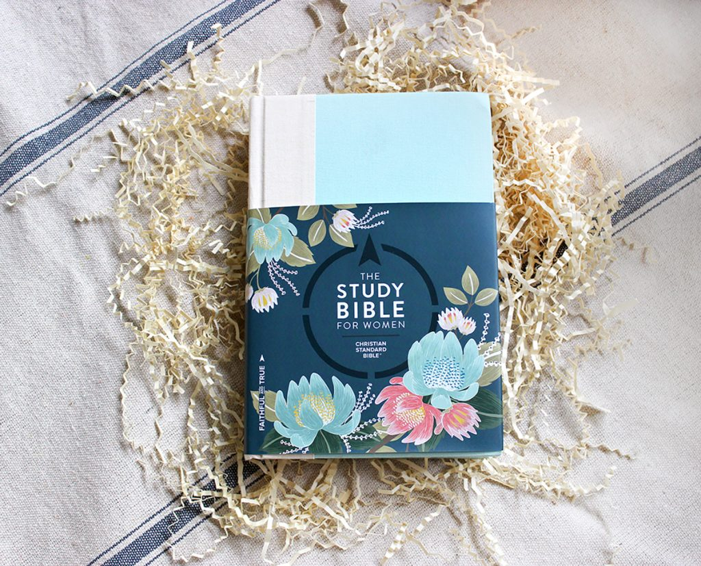 Study Bible Cover with wrap