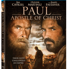 Paul Apostle of Christ Movie Giveaway