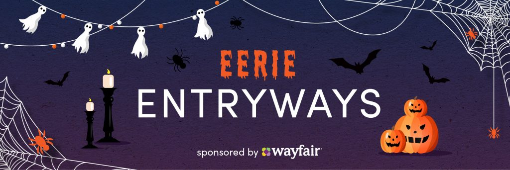 Wayfair Eerie Entryways Banner