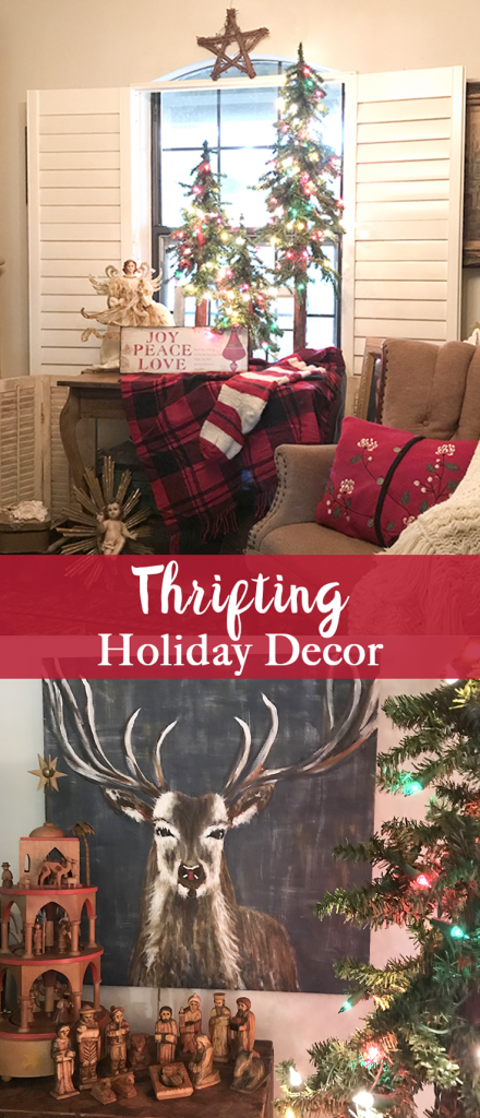 Thrifting Holiday Decor