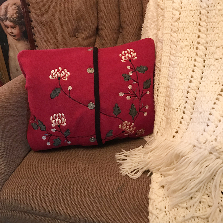 Sweater Pillow Cover