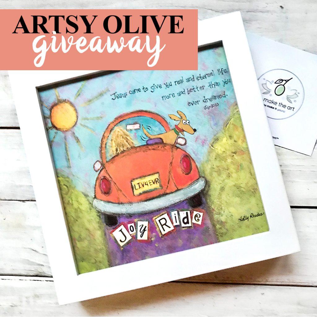 artsy olive giveaway