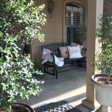 Spring Porch Decor Refresh – Seasons Change!