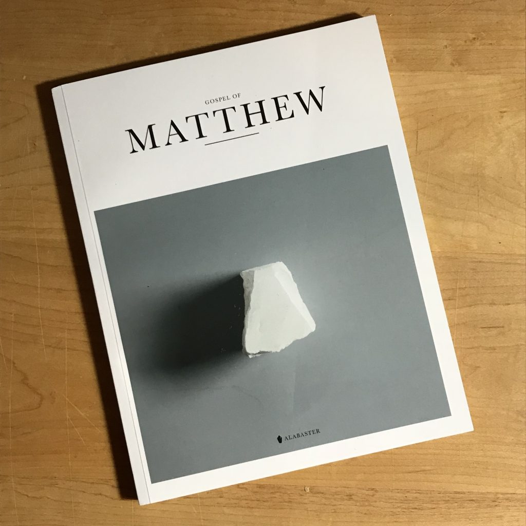 The Gospel of Matthew Cover