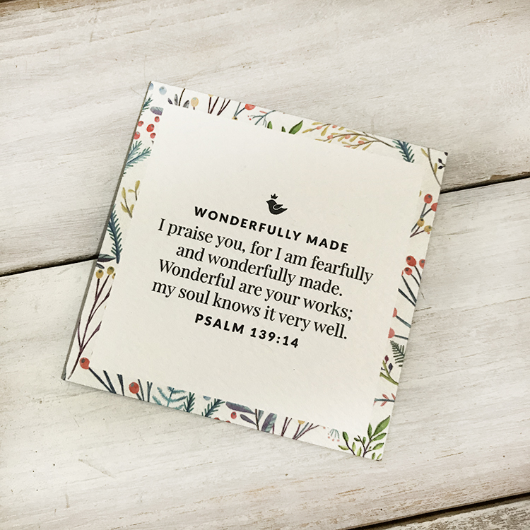 The Bible Verse Story Card