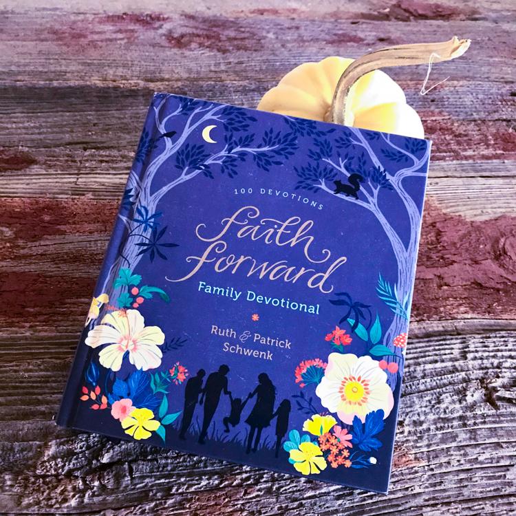 Faith Forward Family Devotional Cover