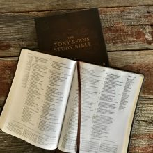 The Tony Evans Study Bible and Box